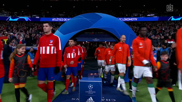 UEFA Champions League: Atletico Madrid - Lok Moskau | DAZN Highlights