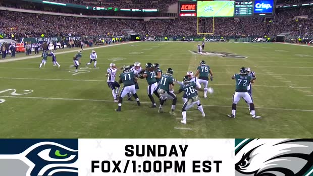 Seahawks vs. Eagles preview | Week 12
