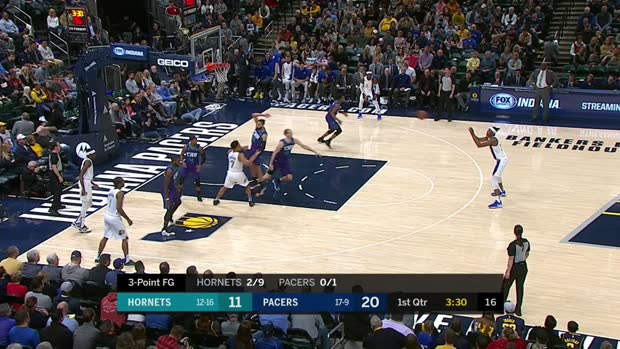 GAME RECAP: Pacers 107, Hornets 85