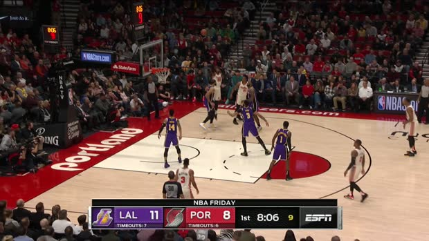GAME RECAP: Lakers 136, Trail Blazers 113