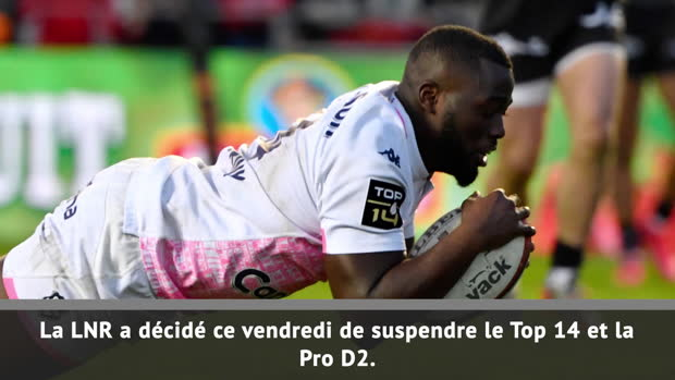 Rugby : Top 14 - Coronavirus : Au tour du rugby !