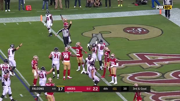 Can't-Miss Play: Julio Jones STUNS 49ers with last-second TD