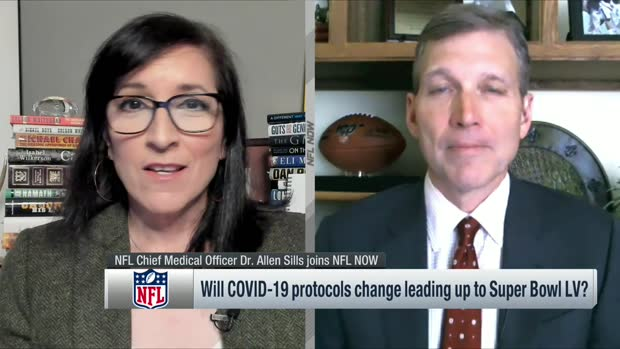 Dr. Allen Sills' timeline for NFL players to get COVID-19 vaccinations