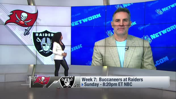 Warner highlights the 'matchup to watch' in Bucs-Raiders