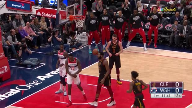 WSC: Isaac Bonga (5 points) Highlights vs. Cleveland Cavaliers