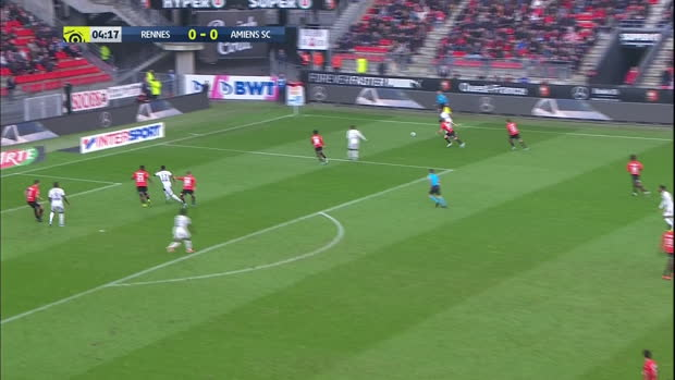 Ligue 1: Rennes - Amiens | DAZN Highlights