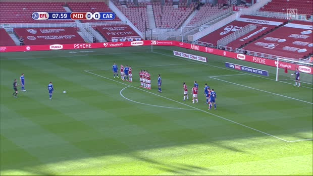 Championship: Middlesbrough - Cardiff City | DAZN Highlights