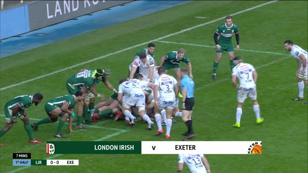 Aviva Premiership : Aviva Premiership - Highlights - London Irish v Exeter Chiefs - Round 8