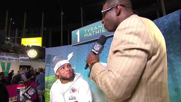 Kansas City Chiefs safety Tyrann Mathieu reflects on his journey to Super Bowl LIV