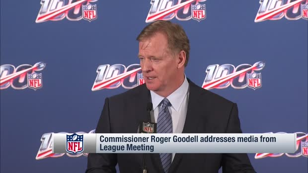 NFL Commissioner Roger Goodell: NFL will examine officiating in the offseason