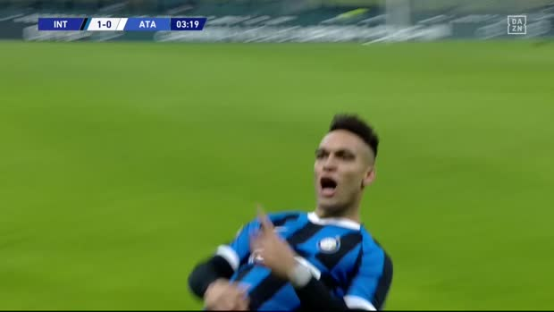 Best of Lautaro Martinez 2019/20 | DAZN Serie A