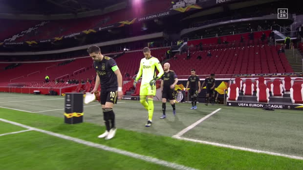 UEFA Europa League: Ajax - AS Rom | DAZN Highlights