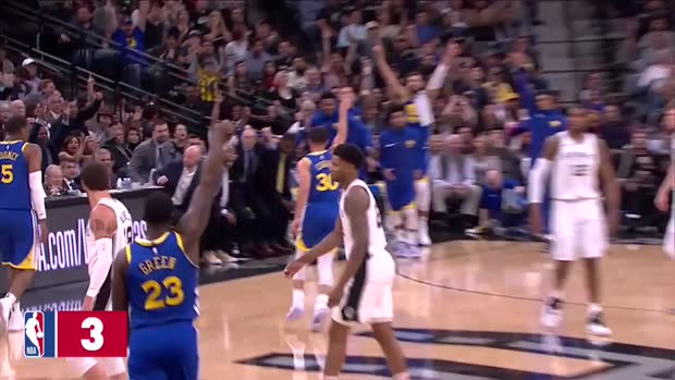 Golden State Warriors Top 3 Plays of the 2018-19 Season