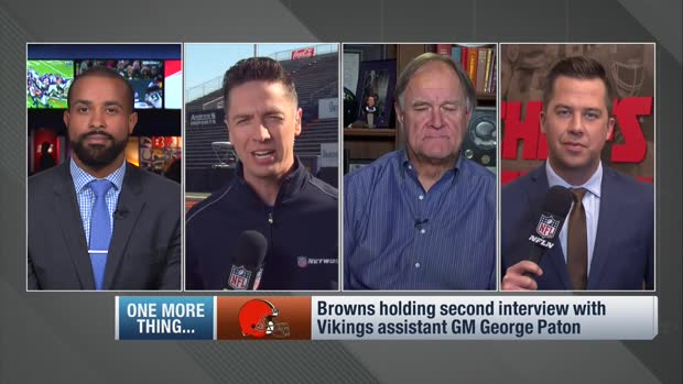 NFL Network's Tom Pelissero: Cleveland Browns plan to host Minnesota Vikings assistant general manager George Paton for second interview