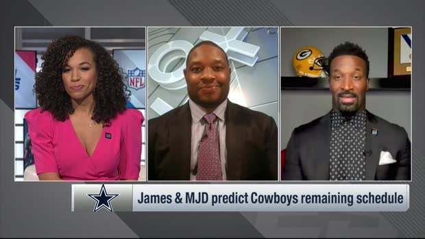 MJD, James Jones predict Cowboys' remaining games on schedule
