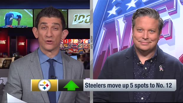Dan Hanzus: Why Steelers move up five spots in power rankings