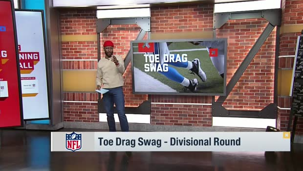 Burleson breaks down top toe-drag swag catches of Divisional Round