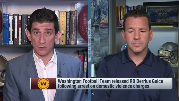 Rapoport reports on Washington's RB plans after Guice's release