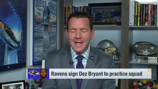 Rapoport: Ravens sign Dez Bryant to practice squad