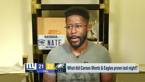 'GMFB': What Wentz, Eagles proved in win over Giants
