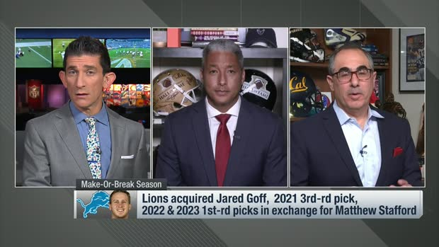 Silver, Wyche: Expectations for Jared Goff in 2021 with Lions
