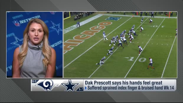 Jane Slater offers updates on Dallas Cowboys QB Dak Prescott, Leighton Vander Esch injuries
