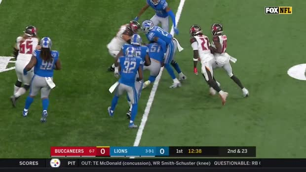Buccaneers vs. Lions highlights | Week 15