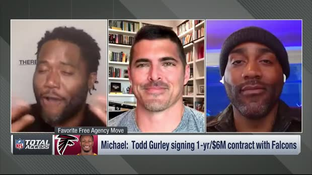 NFL Network's Michael Robinson: How did Rams let go of Atlanta Falcons running back Todd Gurley?