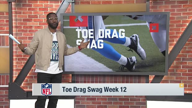 Burleson breaks down top toe-drag swag catches of Week 12