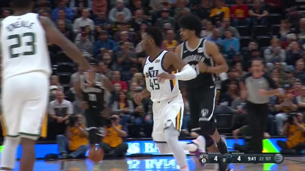 WSC: Donovan Mitchell with 30 Points vs. Brooklyn Nets