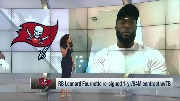 'Lombardi Lenny' Fournette discusses return to Bucs in pursuit of another Super Bowl