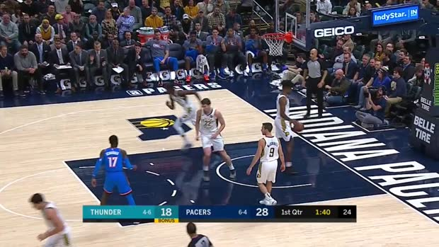 WSC: Dennis Schroder (9 points) Highlights vs. Indiana Pacers