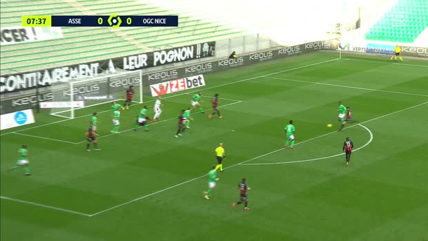 Ligue 1: Saint-Etienne - Nizza | DAZN Highlights