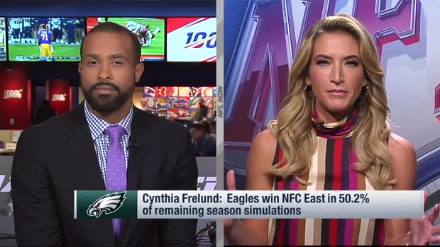 Cynthia Frelund's projection for how NFC East will play out