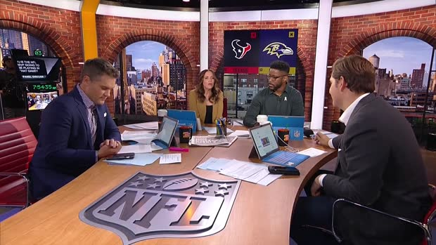 'GMFB' previews Texans-Ravens Week 11 matchup