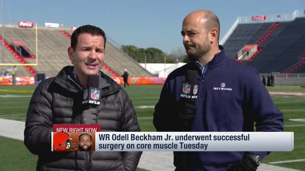NFL Network Insider Ian Rapoport: Cleveland Browns wide receiver Odell Beckham Jr. underwent successful core muscle surgery