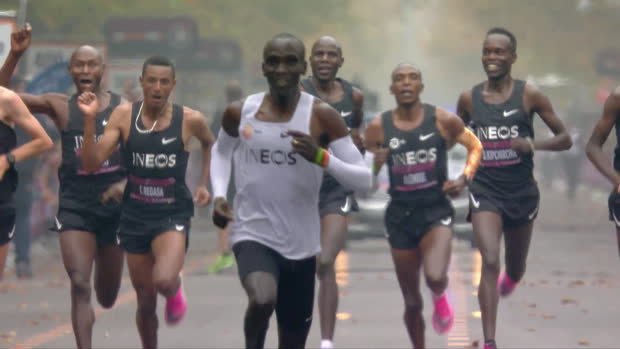 1:59,40! Kipchoges Fabel-Marathon im Video