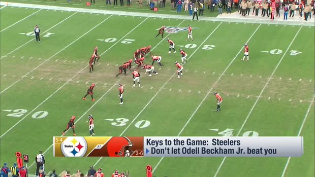 Casserly's keys to a Steelers win over Browns