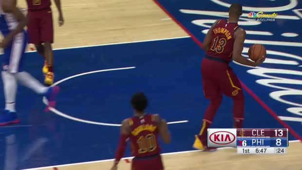 WSC: Joel Embiid with 27 Points vs. Cleveland Cavaliers