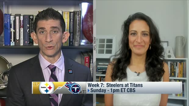 Kinkhabwala: Battle of 5-0 Steelers-Titans 'about as big as it gets'