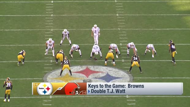 Casserly's keys to a Browns win over Steelers