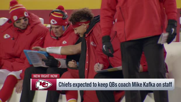 NFL Network's Mike Garafolo: Quarterbacks coach Mike Kafka expected to stay with Kansas City Chiefs, may get new title