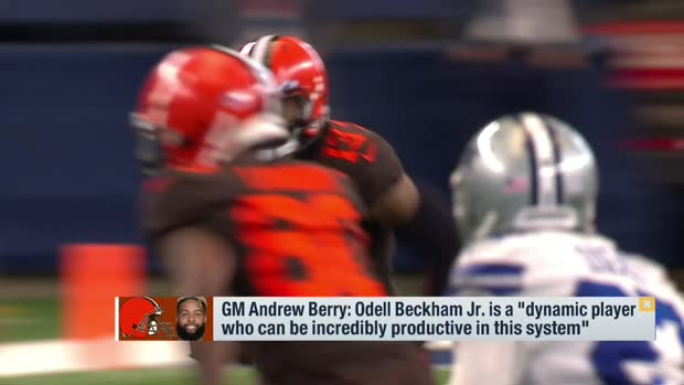 Burleson: 'It wouldn't surprise me' if Browns were open to trading OBJ