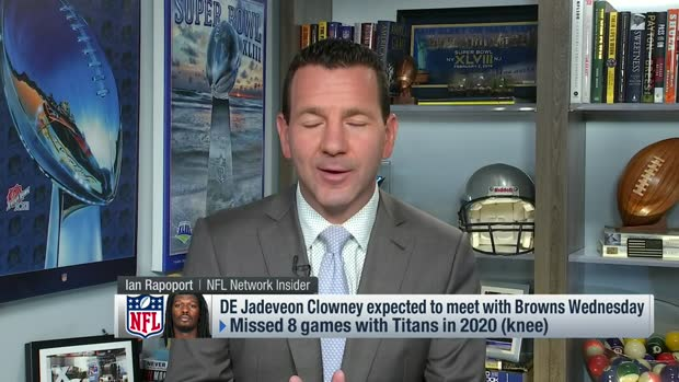 Rapoport details 'mutual admiration' between Browns, Clowney