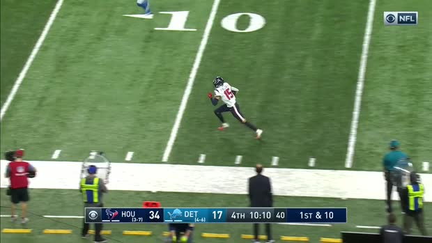 Can't-Miss Play: 'Are you kidding?' Texans' sandlot TD stuns Jim Nantz