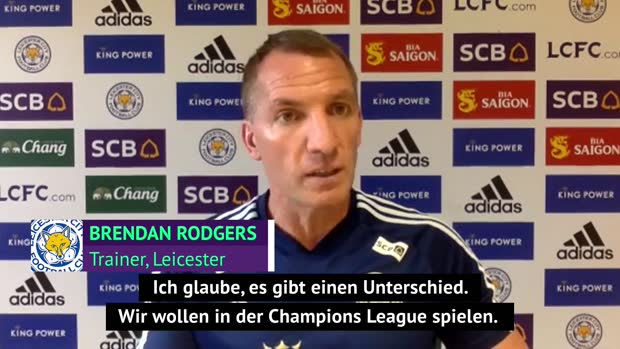 "Rodgers: ""Wir wollen in die Champions League, United muss"""