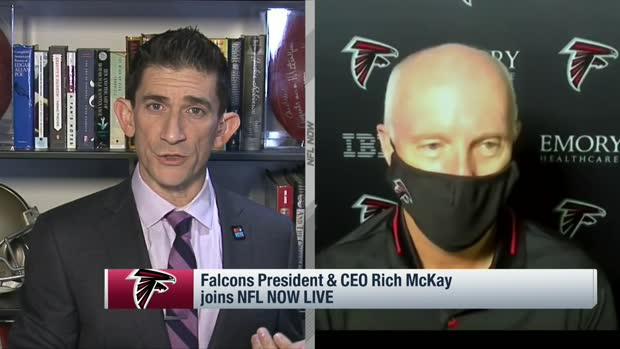 Falcons CEO Rich McKay on importance of 'Rise Up and Vote' effort