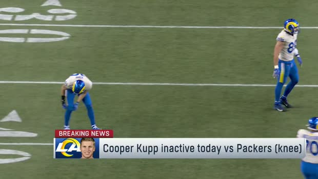 Rapoport: Cooper Kupp inactive in Divisional Round game vs. Packers