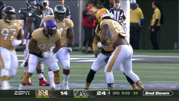 Za'Darius Smith honors Kobe Bryant with celebration after sack