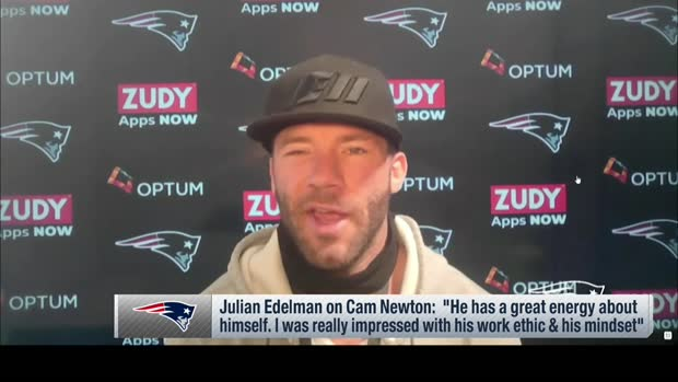 Edelman shares what has impressed him most about Cam so far